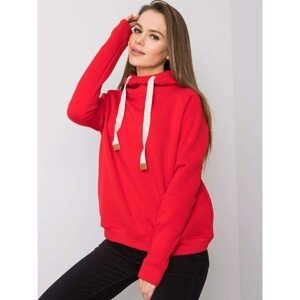 FOR FITNESS Red hooded sweatshirt