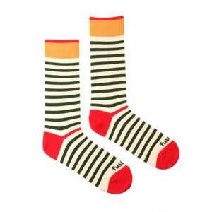 Merry socks Fusakle stripe cheerful (--0813)