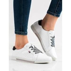 FILIPPO STYLISH LEATHER SNEAKERS