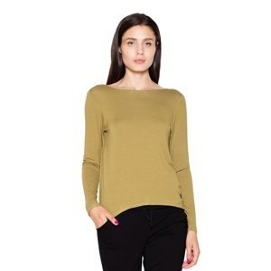 Venaton Woman's Blouse VT010 Olive