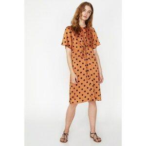 Koton Women Black Polka Dot Dress