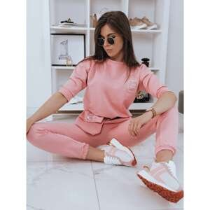 Women's tracksuit YOUTH pink Dstreet AY0546