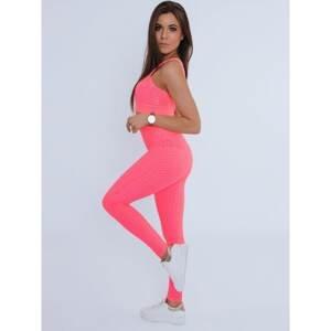 Women's 3in1 tracksuit PANAMERA pink Dstreet AY0527