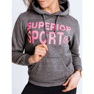 STAR II women's sweatshirt dark gray Dstreet BY0796
