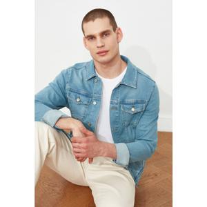 Trendyol Light Blue Men's Denim Jacket