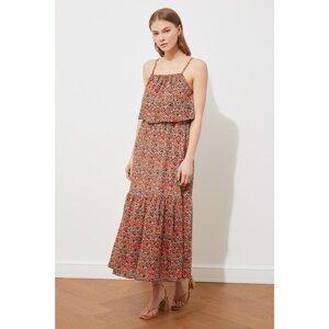 Trendyol Multi Color Strap Pattern Dress
