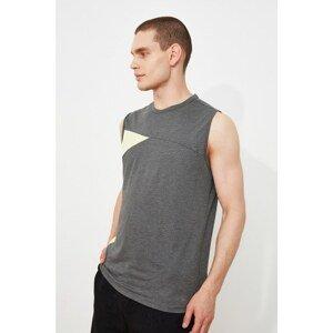 Trendyol Anthracite Men's Regular Fit Undershirt