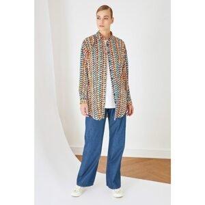 Trendyol Multi Color Shirt Collar Tunic