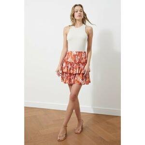 Trendyol Multicolored Patterned Knitted Skirt