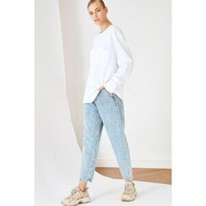 Trendyol Gray Skinny Mom Jeans