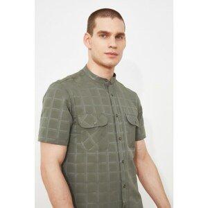 Trendyol Khaki Men's Slim Fit Shirt