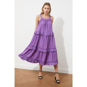 Trendyol Purple Wide Cut Dress