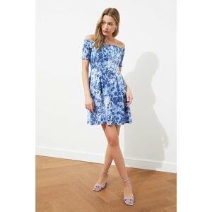 Dámske šaty Trendyol Colorful