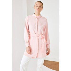 Trendyol Powder Shirt Collar Tunic