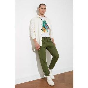 Trendyol Khaki Men's Regular Fit Trousers
