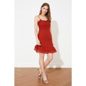 Trendyol Tile Gathered Detailed Dress