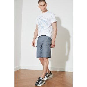 Trendyol Navy Blue Men's Double Flap Pocket Shorts & Bermuda