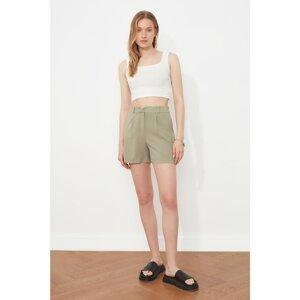 Trendyol Khaki Basic Shorts & Bermuda