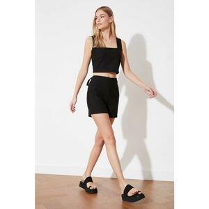 Trendyol Black Basic Shorts & Bermuda