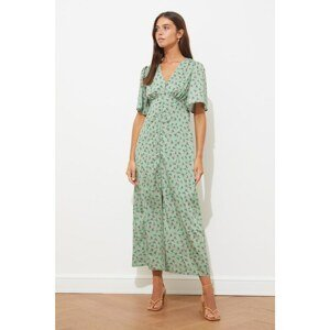 Trendyol Mint Buttoned Dress