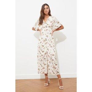 Dámske šaty Trendyol Floral patterned