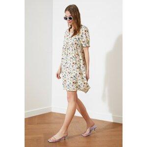 Trendyol Camel V Neck Dress