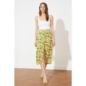 Trendyol Multicolored Slit Skirt