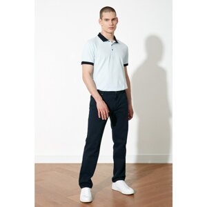 Trendyol Navy Blue Men's Belt-Waist Trousers