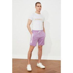 Trendyol Lila Men Regular Fit Shorts & Bermuda