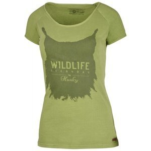 Women's T-shirt Lynx L dark.green