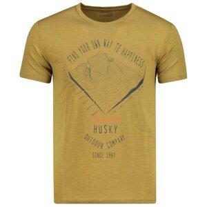 Men's Tingl M khaki T-shirt