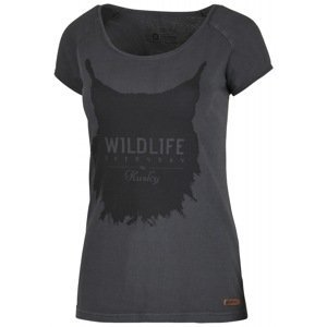 Women's T-shirt Lynx L black menthol