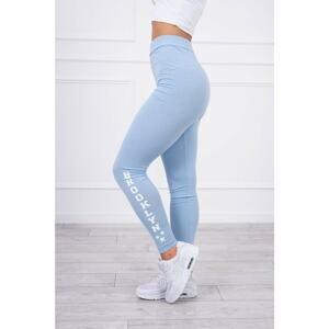 Pants leggings Brooklyn azure
