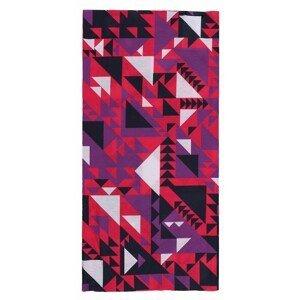 multifunctional scarf Printemp pink triangle
