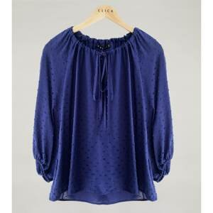 Click Woman's Blouse Selma Navy Blue