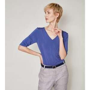 Click Woman's Blouse Vira Navy Blue