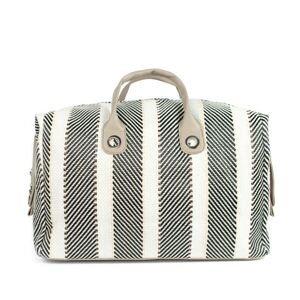 Art Of Polo Woman's Bag Tr21101-3 Black/Light Grey