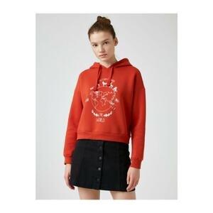 Koton Women Orange Sweatshirt