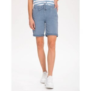 Volcano Woman's Regular Silhouette Shorts N-Pink L44126-S21 Light