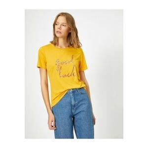 Koton Letter Printed T-shirt