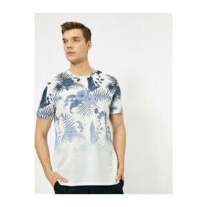 Koton Men's Patterned T-shirt