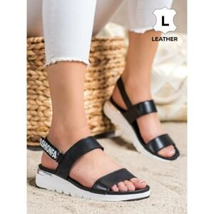FILIPPO LEATHER SANDALS FOR CHOM