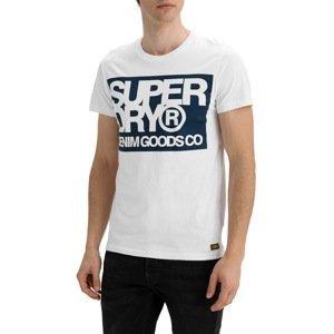 Superdry Tričko Denim Goods Co Print Tee