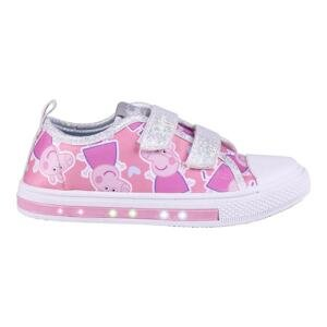 SNEAKERS SUELA PVC CON LUCES PEPPA PIG