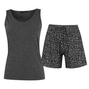 Miso Animal Print Pyjama Set Ladies