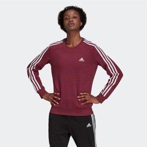 Adidas Essentials 3-Stripes Fleece Sweatshirt Womens