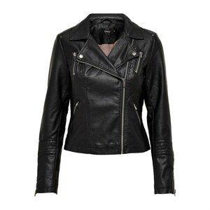 Only biker jacket in Faux Leather
