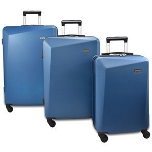 Semiline Unisex's ABS Suitcases Set T5471  20 inches 24 inches 28 inches