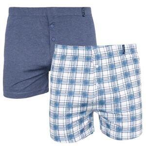 2PACK men's shorts Molva multicolored (KP-063-BBU)