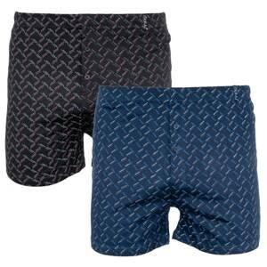 2PACK men's shorts Molva multicolored (KP-060-BBU)